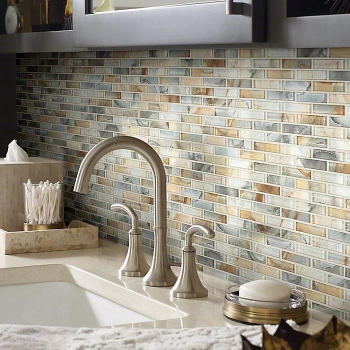 colourful ceramic tile backsplash for modern kitchen | 35+ Modern & Trendy Backsplash Ideas