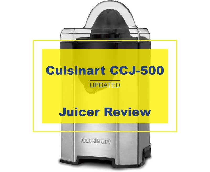 Cuisinart Ccj 500 Pulp Control Citrus Juicer Review Ratings